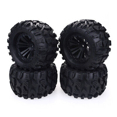 £26.79 • Buy 1/10 RC Car Monster Truck Wheels Tires For HPI HSP Savage XS TM Flux ZD Racing