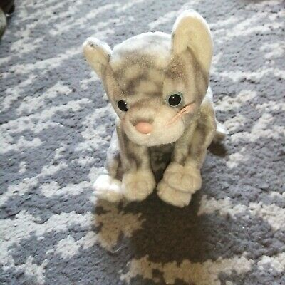 £0.50 • Buy Ty Beanie Babies Cat Silver, Condition Used
