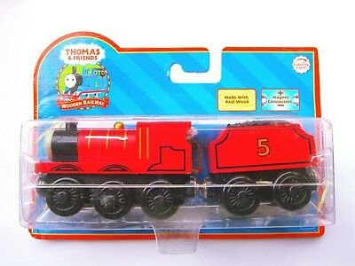 £10.91 • Buy 【GENUINE】*Thomas & Friends Learning Curve Wooden Train 【James】