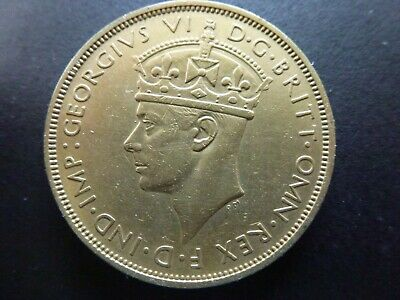 £7 • Buy British West Africa Brass Two Shillings Coin 1939H, Extremely Fine Condition