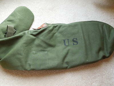 $29.95 • Buy .30 M1 Carbine WW2 Type OD Canvis Padded Rifle Case With Heavy Duty Zipper