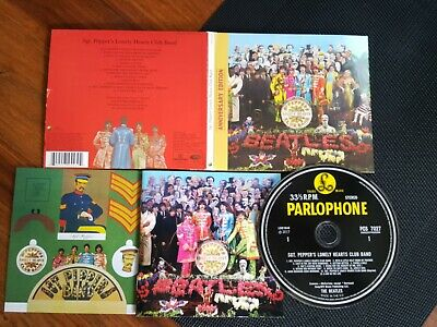 £6.99 • Buy CD Beatles Sgt Pepper Anniversary Edition See Pics