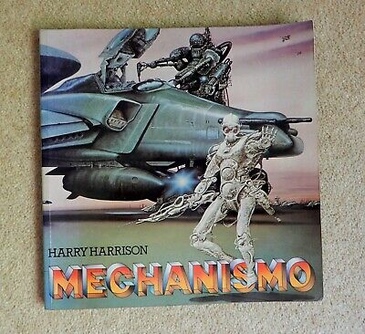 £9.99 • Buy Harry Harrison MECHANISMO Softcover Book - Excellent Illustrations/artwork 1978