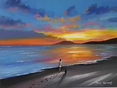 £80 • Buy Original Canvas Painting -  Just The Two Of Us  By Pete Rumney