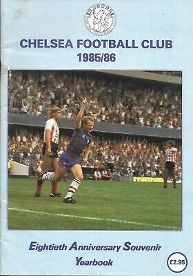 £4.40 • Buy Chelsea Official Year Book 1985/86