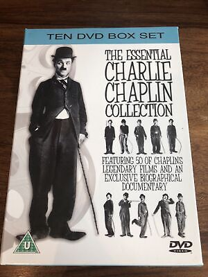 £9.99 • Buy The Essential Charlie Chaplin Collection (DVD, 2005, 10-Disc Set)