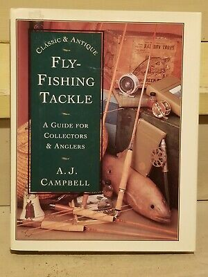 £15.82 • Buy  Vintage Fly Fishing Lures  Rods Reference Book Tackle