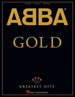 £2.15 • Buy ABBA - Gold: Greatest Hits Songbook (Piano-Vocal-Guitar Artist Songbook)