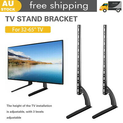 AU34.10 • Buy Universal Table Top TV Stand Leg Mount LED LCD Flat TV Screen 32-75  For Sony LG