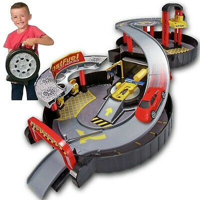 £14.99 • Buy New Chad Valley Foldable Wheel Garage Playset With Car Children's Kids