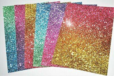£2.99 • Buy Hunkydory 6 A4 Sheets Glitter Ombre Mirri Card