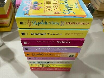 £14.47 • Buy Lot 9 Sophie Kinsella Shopaholic And Baby/Ties The Knot/Confessions+