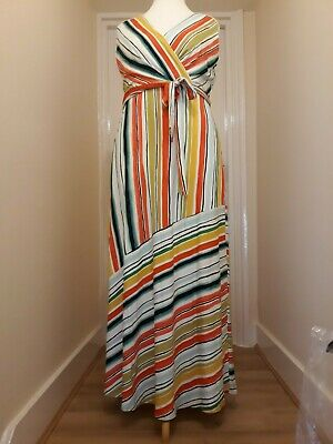 £39 • Buy Phase Eight Striped Maxi Dress Size 16