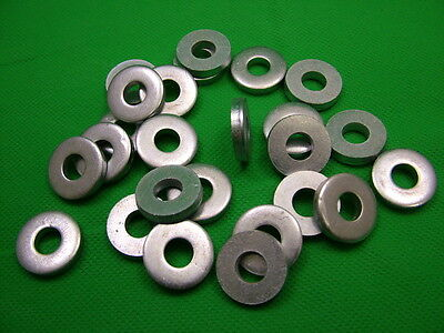 £7.28 • Buy Extra Thick Flat Spacer Washers, Steel, M8, 4mm Thick, Pack Of 50, Zinc Plated