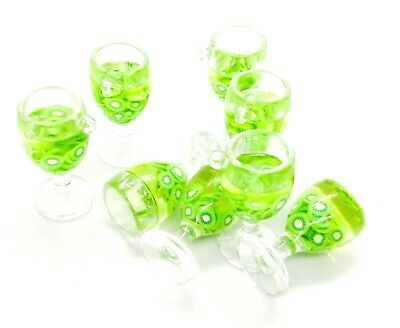 £1 • Buy Large Resin & Clay Cocktail Drink Charms - Choice Of Flavours Jewellery Making