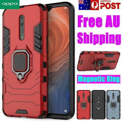 AU10.89 • Buy For OPPO A15 Reno Z A52 5G Find X 2 3 Pro Shockproof Case Heavy Duty Ring Cover