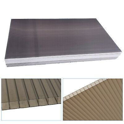 £69.02 • Buy 14 PCS Brown 4mm Twinwall Polycarbonate Sheet For Commercial Greenhouse Use