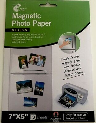 £2.89 • Buy Chiltern Wove Magnetic Photo Paper A4 Pack Of 2