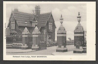 £4.99 • Buy Postcard West Bromwich Nr Walsall The Dartmouth Park Lodge By Thompson Early