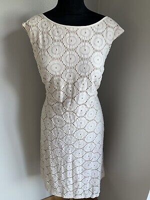 £4.59 • Buy Jessica Howard Gorgeous Ivory Lace Party/cocktail Dress Size 18 Great Condition