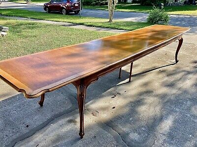 $3499 • Buy Vtg Gabriel Victor Dining Table Drop Leaf W Extensions Expanding 2.5' - 13'