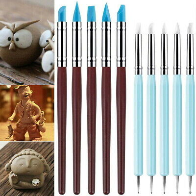 £5.99 • Buy 10PCS Polymer Clay Tool Modelling Sculpting Tool Pottery Models Art Projects Set
