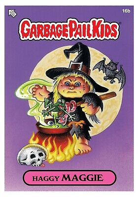 $115 • Buy WAX NFT TOPPS OG SERIES #1 HAGGY MAGGY GARBAGE PAIL KIDS (CARD#16b /MINT134/787)