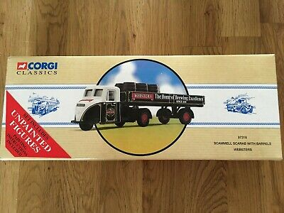 £12.50 • Buy Corgi Scammell Scarab Websters. No97318.