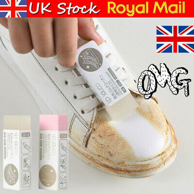 £4.39 • Buy Rubber Stain Eraser Cleaner Cleaning Kit For Suede Nubuck Shoes Boots Trainer*UK