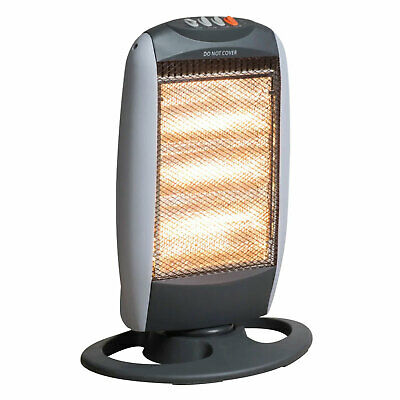 £19.99 • Buy Fine Elements 1200W Halogen Heater With 3 Heat Settings & Wide Angle Oscillation