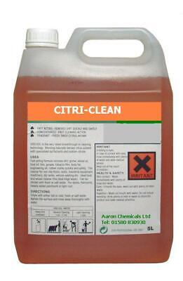 £9.99 • Buy Citrus Carpet Cleaner Concentrate-Exceptional Cleaning Strong Degreaser 5L