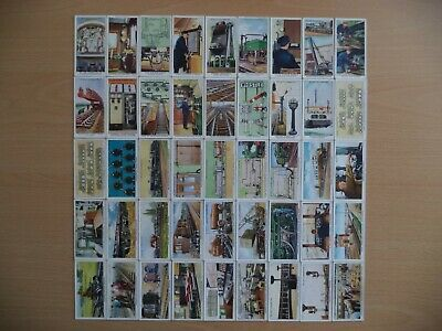 £1.99 • Buy Railway Equipment - Wd & Ho Wills Cigarette Cards - Incomplete Set (45) - 1938