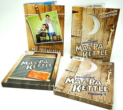 $9.99 • Buy The Adventures Of Ma And Pa Kettle - Volume 1 & 2 (DVD, 2004)