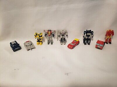 £9.31 • Buy Transformers In Disguise Mini PVC Cake Toppers Lot Of 9