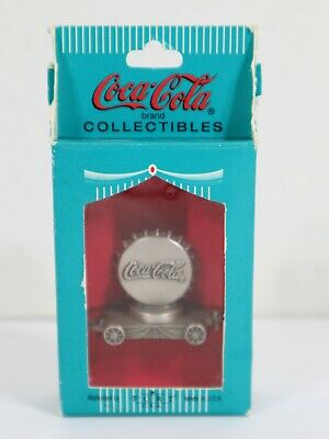 £10.61 • Buy Coca-Cola Pewter Collectible Bottle Cap Train Figure - 1997 - Free Shipping