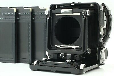 £460.19 • Buy [Near Mint] WISTA 45 Large Format With Sliding Back Adapter Film Back 6×9 Camera
