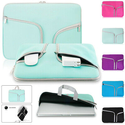 $11.64 • Buy For Macbook Air/Pro/Retina 11 13 12 15 Inch Laptop Sleeve Carry Bag Pouch Case