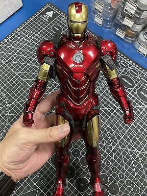 $ CDN971.63 • Buy (used Toy) 1/6 Hot Toys Mms461d21 Iron Man 2 Mk4 Mark Iv Die-cast Action Figure