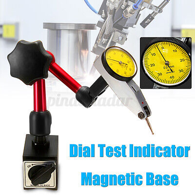 £12.59 • Buy Dial Test Indicator Magnetic Base Stand Metric Precision Clock Gauge Only Stand
