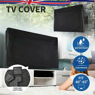 £14.19 • Buy TV Cover 22 -42  LED LCD Television Protective Waterproof Outdoor/Indoor Black