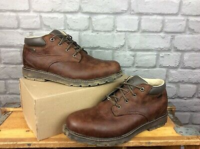 £16 • Buy Brasher Mens Uk 11 Eu 4 Country Traveller Brown Leather Walking Boots Rrp £150