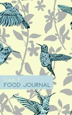 £3.93 • Buy Daily Food Journal : Calorie Counting Log Book (Small Size) (Hummingbirds)