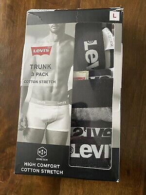 £15 • Buy Levi's Trunk 3 Pack Cotton Stretch,