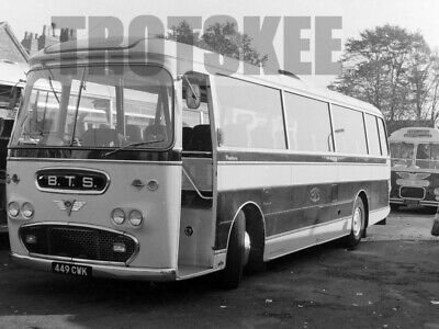 £3.99 • Buy Larger Negative Barton BTS AEC Reliance Plaxton 449CWK Coventry 1965