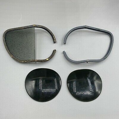 £30 • Buy WW2 RAF Spare Frames And Anti Sun Glare Lenses Glasses And Flying Goggles