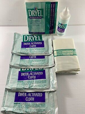 £15.99 • Buy Lot DRYEL Dryer Activated Cloth Dry Clean Stain Remover Pad Bag