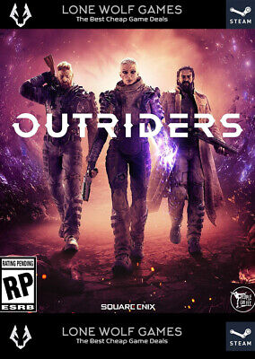 AU56.12 • Buy OUTRIDERS Steam Original Game Windows PC Great Game