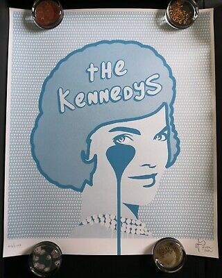 £95 • Buy Pure Evil The Kennedys Limited Edition Art Screen Print Signed And Numbered /100