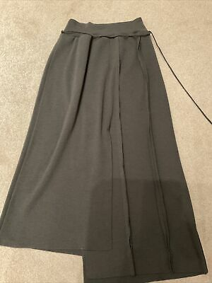 £12 • Buy Crea Concept Brown Knit Wool Mix Skirt. Unusual Design. Size Large 12-14