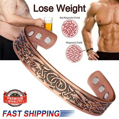 £7.99 • Buy Health Magnet Therapy Wristband Copper Magnetic Bracelet Arthritis Pain Relief